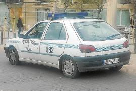 La Policía Local de Palma precinta el obsoleto coche patrulla de más de 20 años