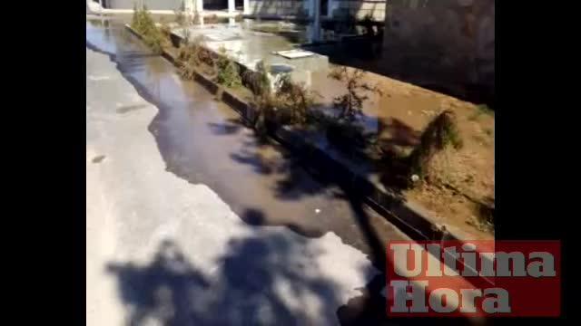 Vertidos de aguas fecales en Muro
