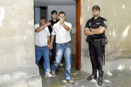 La jueza ratifica que 'El Pablo', 'El Pablillo' y 'El Cololo' sigan en prisión
