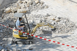 Mac Insular denuncia que los escombros de Can Bibiloni terminan en un vertedero