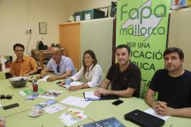 Fapa Mallorca recomienda a las familias que no compren todavía los libros de texto