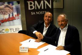BMN-Sa Nostra suscribe un acuerdo con Acotur con una línea de crédito