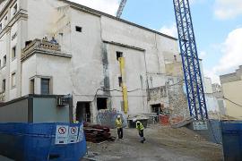 Dragados-Coexa recoge los bártulos y abandona la reforma del Teatre Principal de Inca