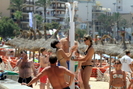 Las temperaturas siguen subiendo en Balears