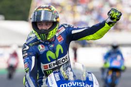 El italiano Valentino Rossi gana por delante de Márquez y Lorenzo
