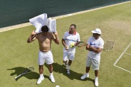 Nadal: «He entrenado bien y espero poder competir este año en Wimbledon»