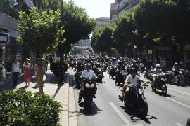 Las motos rugen en una nueva concentración Moto Rock