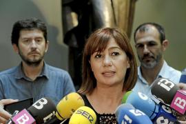 Armengol abre el debate de investidura mientras sigue negociando el Govern