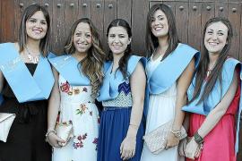 Fiesta de graduación en el CESAG
