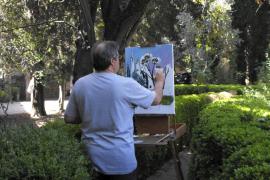 Pintura en vivo para inmortalizar los mejores rincones de Valldemossa