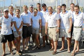 Entrega de trofeos de la Superyacht Cup