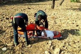 Hospitalizado un vecino de s'Arracó  de 81 años que pasó 10 horas desaparecido