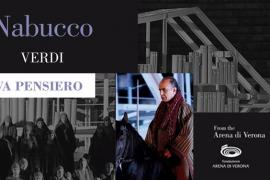 Proyección de la ópera 'Nabucco' en el Teatre de Capdepera