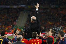 Del Bosque: «España se merece todo esto, que va más allá de lo deportivo»