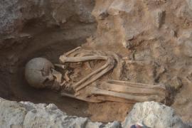Hallan nuevos restos humanos de más de 2.500 años en la necrópolis de Son Real