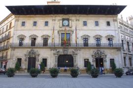 El uso del catalán en Cort cayó un 21 % en los documentos de salida con el PP