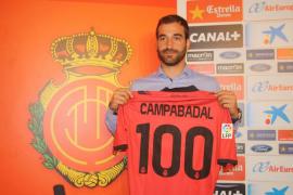 El Mallorca presenta a su nuevo refuerzo, Campabadal