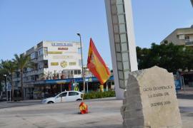 C's celebra que el Consistorio de Calvià vuelva a instalar la bandera española