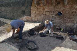 Las excavaciones en el Castell de Capdepera continúan a buen ritmo