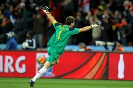 Iker Casillas: «Este triunfo hace justicia»