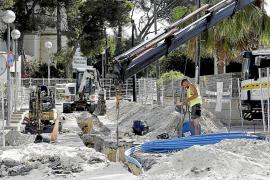 Vecinos de Sometimes, indignados por las obras en pleno verano