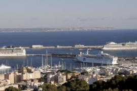 La llegada de cruceristas a Balears descendió un 2,4 % hasta mayo