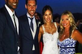 Rudy Fernández y Helen Lindes se casan en Mallorca