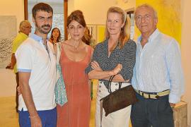 Carolina Amigó expone su obra en la galería Dionís Bennàssar