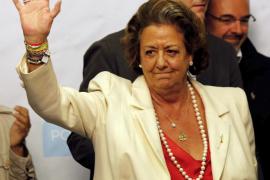 El PP valenciano designa como senadores a Alberto Fabra y Rita Barberá