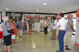 Cruz Roja inaugura en Capdepera una exposición sobre la ayuda humanitaria