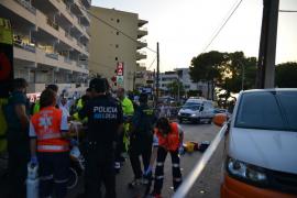 Fallece la mujer arrollada por una furgoneta en Santa Ponça