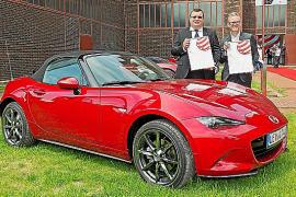 El Mazda MX-5 recibió el premio 'Red Dot'