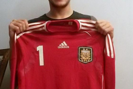 Nico Sarmiento, el nuevo portero del Palma Futsal