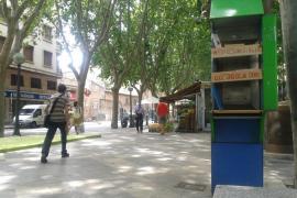 La iniciativa de las bibliocabinas llega a Palma para quedarse