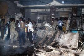 Al menos siete muertos en un ataque contra dos hoteles en Mogadiscio