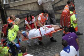 Los cuatro corneados, ingresados mientras que otros cinco heridos reciben el alta