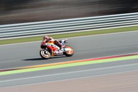 Márquez suma su cuarta mejor clasificación del año en Sachsenring, donde Lorenzo saldrá tercero