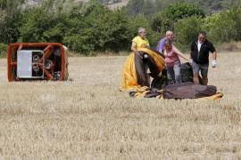Un muerto y cuatro heridos en un accidente de globo aerostático en Barcelona