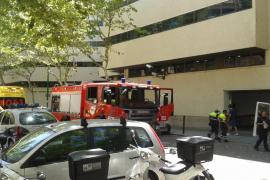 Alarma en la Jefatura de Policía de Palma por un incendio en los calabozos