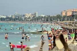 Mallorca está este lunes en alerta  amarilla por altas temperaturas