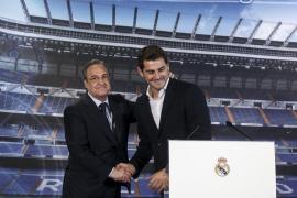 """Florentino Pérez: """"Nadie le ha pedido a Casillas que deje el club"""""""