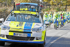 Citroën apoya a Contador en el Tour de Francia