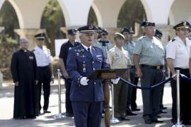 Francisco Eusebio Lozano toma posesión como jefe del  Sector Aéreo de Palma y de la Base Aérea de Son Sant Joan