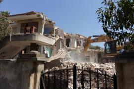 La 'Casa Verda' es demolida tras años de ocupación ilegal