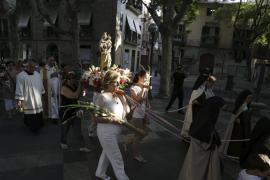 Procesión en Palma de la Verge del Carme