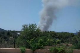 Declarado un incendio forestal de nivel 1 en Sant Miquel de Balansat