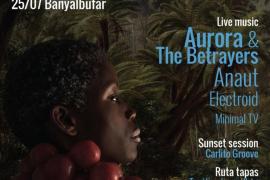 Fusión de ritmos y gastronomía en la IV edición del festival 'Eres Negre' de Banyalbufar