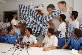 PALMA UH AT BALEARES PRESENTACION CAMPAÑA SOCIOS ENTRENAMIENTO FOTO