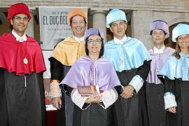 Acto de graduación de la Escuela de Turismo en La Misericòrdia