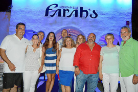 Fiesta de inauguración de la discoteca Farah's en Cala d'Or